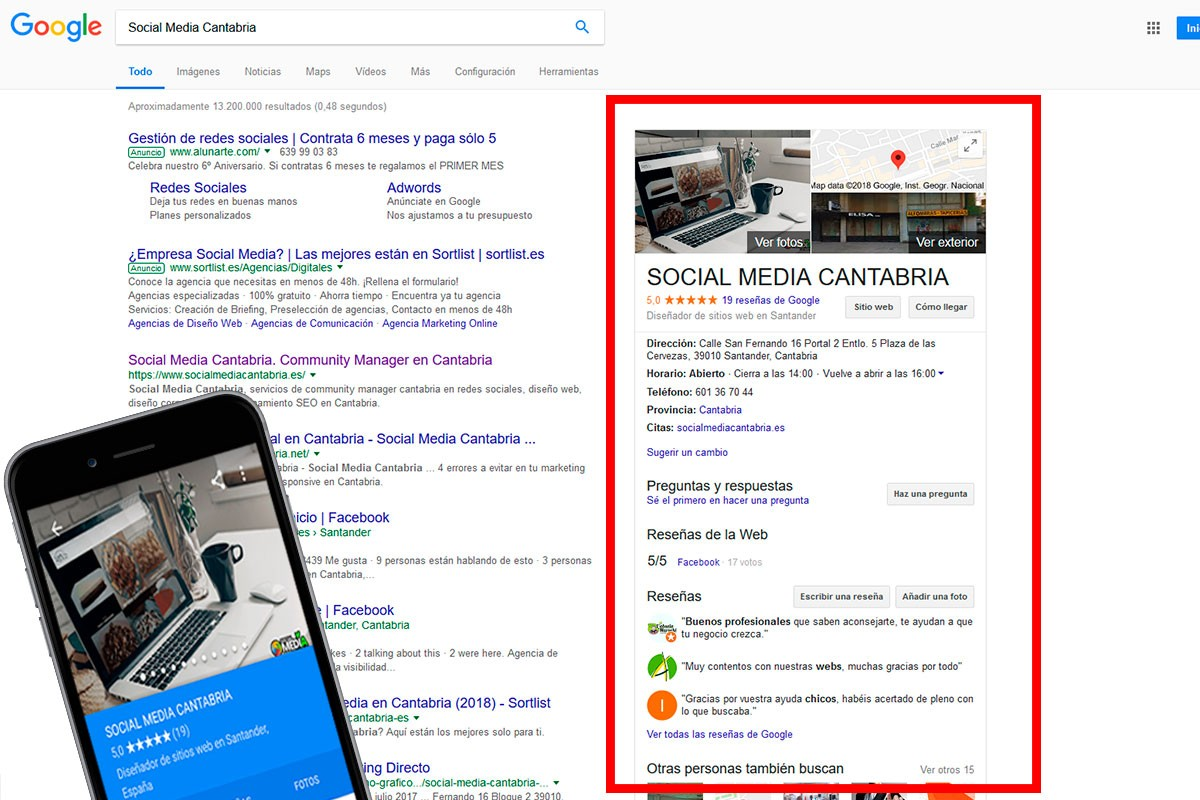 SEO LOCAL GOOGLE MY BUSINESS