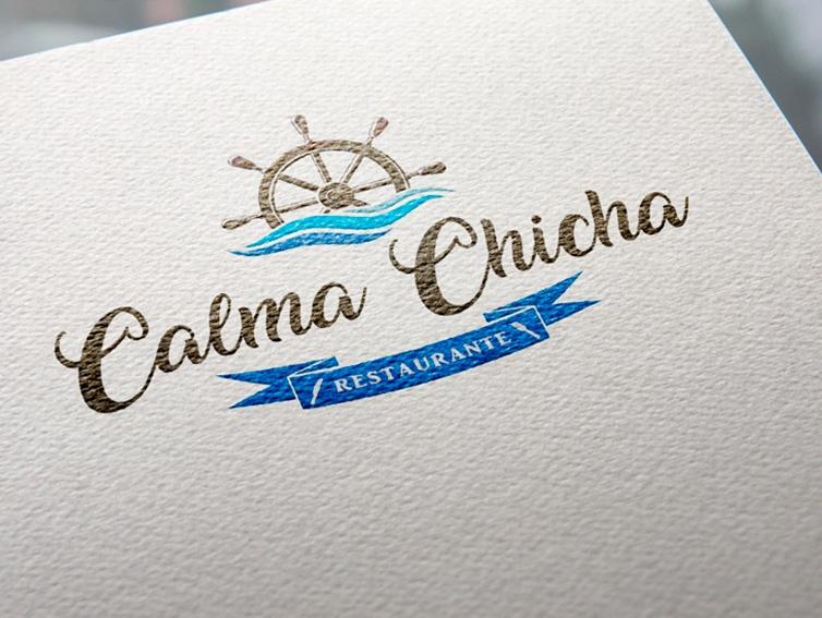 Calma Chicha - diseño de Logotipos en Cantabria